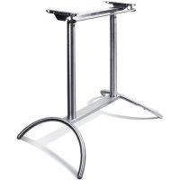 wackelfreies Tischgestell aus Edelstahl